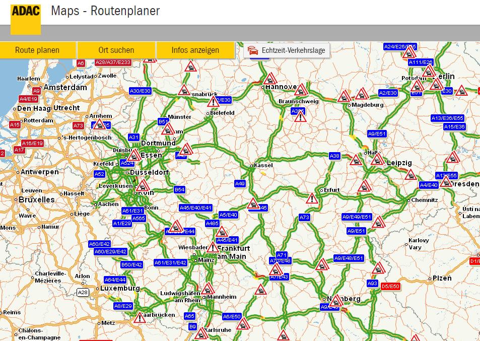ADAC Maps - Routenplaner
