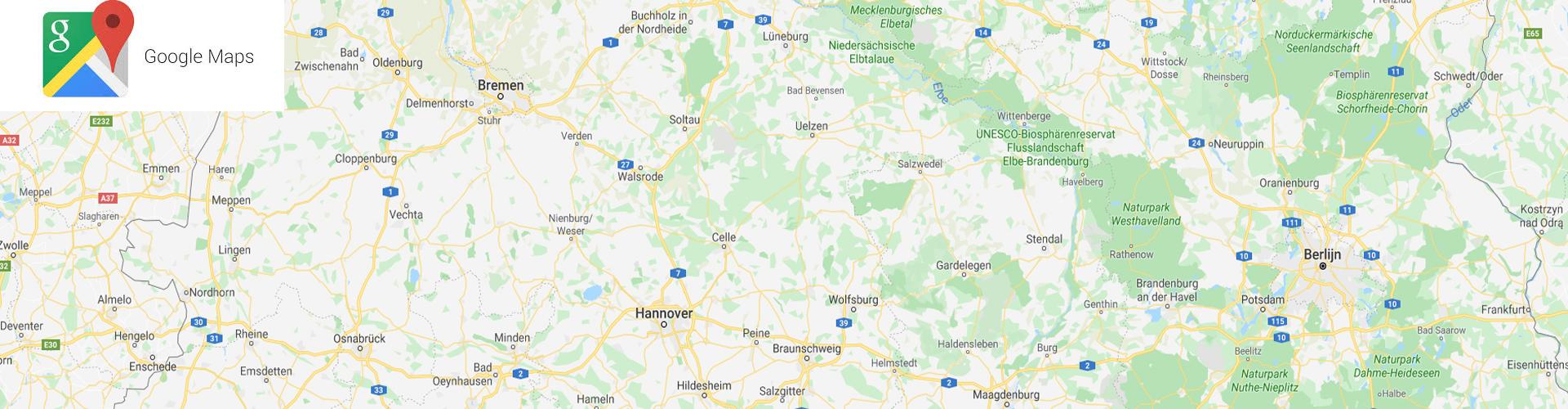 Berechnung kilometerentfernungen Deutschland